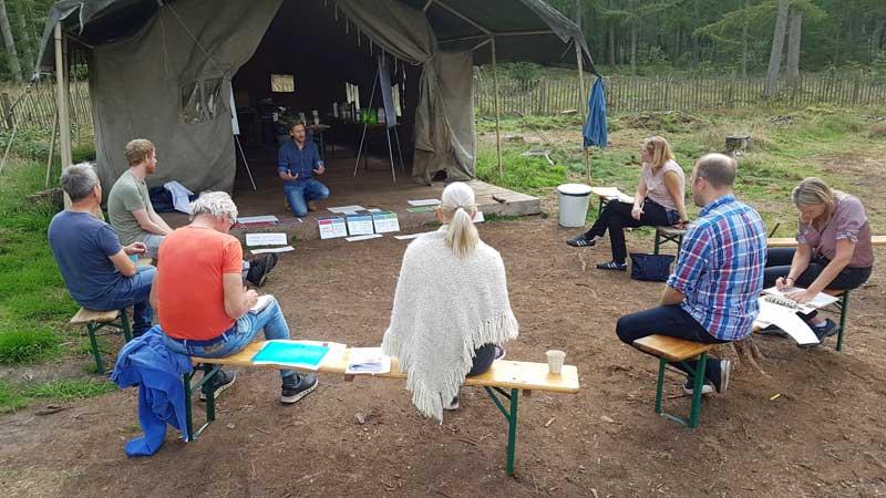 Opleidingsdag Schaal van Samenwerking op Kamp Buitendoor