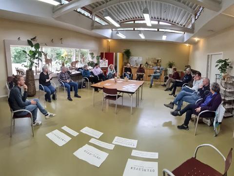 Bijeenkomst waarin de eerste groep gebruikers van de Schaal van Samenwerking is gecertificeerd